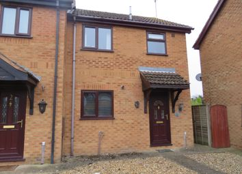 Thumbnail 2 bed terraced house for sale in Churchill Court, Long Sutton, Spalding