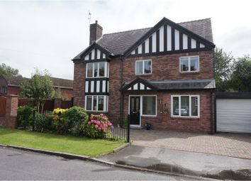 Thumbnail 5 bedroom detached house for sale in Weston Grove, Heaton Chapel