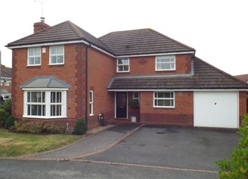 Thumbnail 4 bed detached house for sale in Shannon Way, Evesham