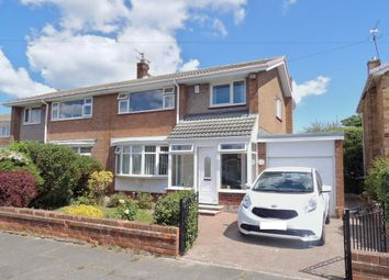 Thumbnail 3 bed semi-detached house for sale in Meldon Avenue, South Shields