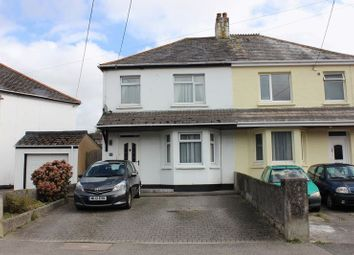 Thumbnail 3 bed semi-detached house for sale in Gover Road, Trewoon, St. Austell