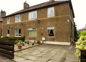 Thumbnail 2 bed flat for sale in Abbots Road, Grangemouth