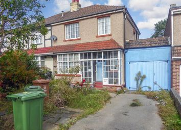 Thumbnail 3 bed semi-detached house for sale in Northall Road, Barnehurst, Kent