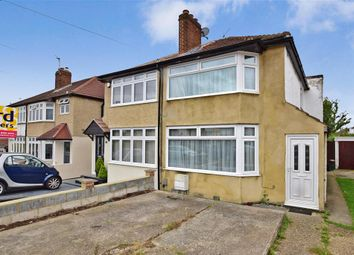 Thumbnail 3 bed semi-detached house for sale in Clinton Avenue, Welling, Kent