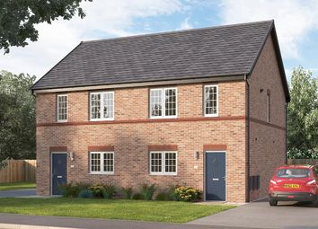 "Thumbnail 3 bedroom semi-detached house for sale in ""The Fenbridge"" at Burton Street, Market Harborough"