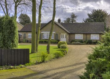 Thumbnail 4 bed detached bungalow for sale in Waresley, Sandy, Cambridgeshire