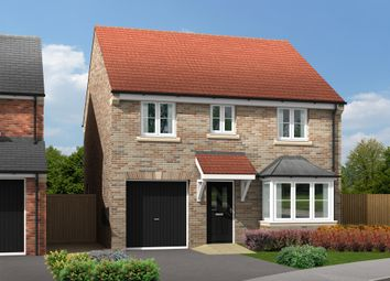 "Thumbnail 4 bed detached house for sale in ""The Burnby"" at White Mill Drive, Pocklington, York"