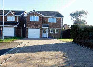 Thumbnail 3 bed detached house for sale in Lulworth Close, Poole