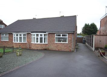 Thumbnail 2 bed semi-detached bungalow for sale in Wells Road, Mickleover, Derby