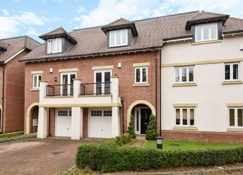 Thumbnail 4 bed terraced house to rent in Goodacre Close, Weybridge