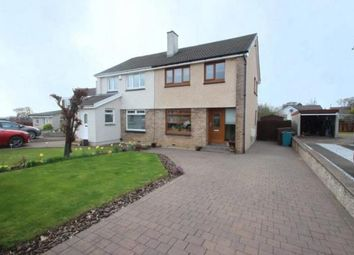 Thumbnail 3 bed semi-detached house for sale in Berwick Crescent, Cairnhill, Airdrie