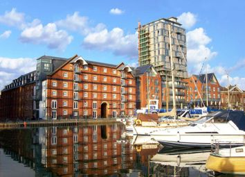 Thumbnail 3 bed flat to rent in Regatta Quay, Key Street, Ipswich