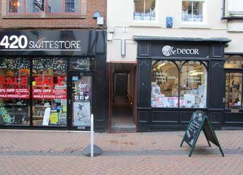Thumbnail Leisure/hospitality to let in Sadler Gate Bar, Sadler Gate, Derby