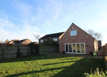 Thumbnail 4 bed detached house for sale in Clay Lane, Breighton, Selby