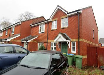 Thumbnail 2 bed end terrace house to rent in Bevan Close, Southampton