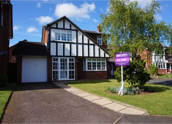Thumbnail 3 bed detached house for sale in Gable Croft, Lichfield