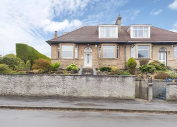 Thumbnail 3 bedroom semi-detached house for sale in 281 Churchill Drive, Broomhill, Glasgow