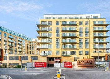 Thumbnail 1 bed flat for sale in Langley Square, Mill Pond Road, Dartford