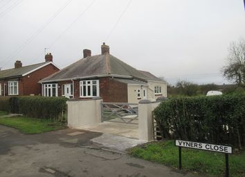 Thumbnail 2 bed detached bungalow for sale in Vyners Close, Spennymoor