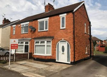 Thumbnail 3 bed semi-detached house to rent in Avon Road, Scunthorpe