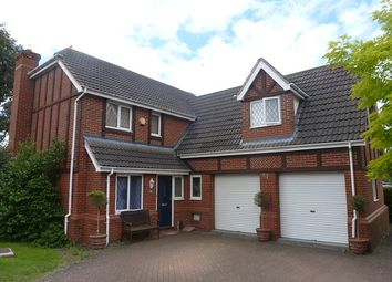 Thumbnail 5 bed detached house to rent in Russet Close, St. Ives, Huntingdon