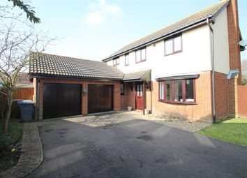 Thumbnail 4 bed detached house for sale in Battles Lane, Grange Farm, Kesgrave, Ipswich