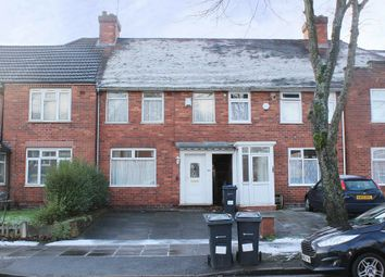 Thumbnail 3 bedroom terraced house to rent in Lakey Lane, Hall Green, Birmingham