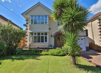 Thumbnail 4 bed detached house for sale in Newport Road, Old St. Mellons, Cardiff