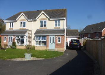 Thumbnail 3 bed semi-detached house for sale in Hibiscus Crescent, Andover
