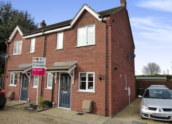 Thumbnail 2 bedroom semi-detached house for sale in Granger Close, Wisbech