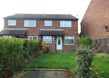 Thumbnail 1 bedroom semi-detached house to rent in Furness Close, Dinnington, Sheffield
