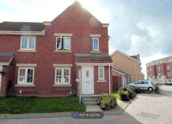 Thumbnail 3 bed semi-detached house to rent in Dovestone Way, Hull