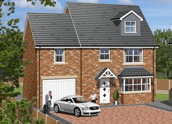 Thumbnail 4 bed detached house for sale in Plot 5, Westfield Lane, South Elmsall