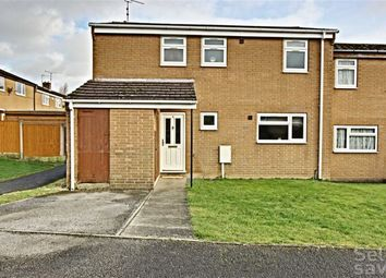 Thumbnail 3 bed town house for sale in Linacre Avenue, Danesmoor, Chesterfield, Derbyshire