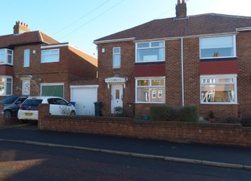 Thumbnail 3 bed semi-detached house for sale in Derwentdale Gardens, High Heaton, Newcastle Upon Tyne
