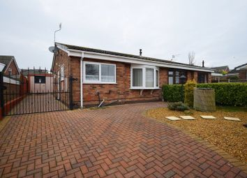 Thumbnail 2 bedroom semi-detached bungalow for sale in Heathside Lane, Stoke-On-Trent