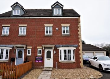 Thumbnail 4 bed semi-detached house for sale in Ffordd Y Gamlas, Llanelli