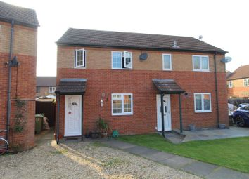 Thumbnail 2 bedroom semi-detached house for sale in Richborough, Milton Keynes