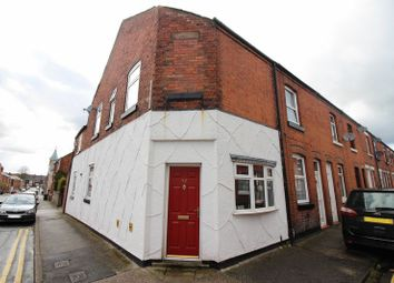 Thumbnail 3 bed end terrace house for sale in Wellington Street, Leek, Staffordshire