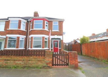 Thumbnail 3 bed semi-detached house to rent in Lodge Street, Hull