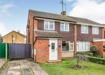 Thumbnail 3 bed semi-detached house for sale in Longville, Old Wolverton, Milton Keynes, Buckinghamshire