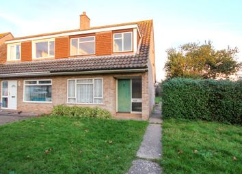 Thumbnail 3 bed semi-detached house for sale in Hawkridge Road, Bridgwater, Somerset