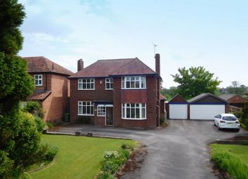 Thumbnail 4 bed detached house for sale in Crewe Road, Willaston, Nantwich