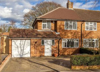 Thumbnail 3 bed semi-detached house to rent in Cuckmans Drive, St Albans, Hertfordshire