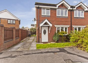 Thumbnail 3 bed semi-detached house for sale in Wolfe Close, Chistchurch
