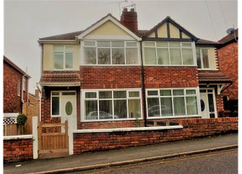 Thumbnail 3 bed semi-detached house for sale in Park Lane, Holywell