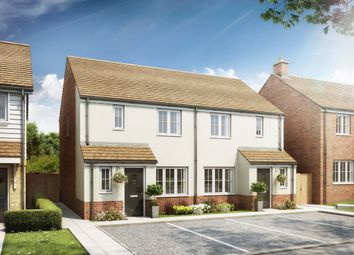 "Thumbnail 3 bed end terrace house for sale in ""The Hanbury"" at Rattle Road, Stone Cross, Pevensey"