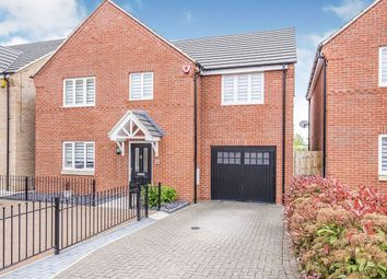Thumbnail 4 bed detached house for sale in Maddock Close, Narborough, Leicester