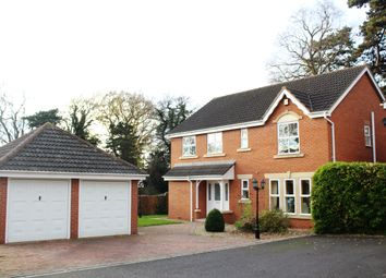 Thumbnail 4 bed detached house to rent in The Firs, Syston