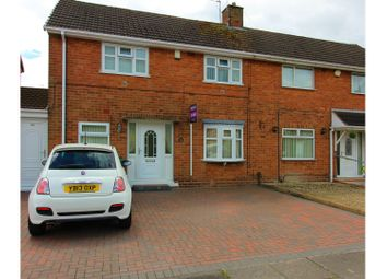 Thumbnail 3 bedroom semi-detached house for sale in Abingdon Road, Wolverhampton